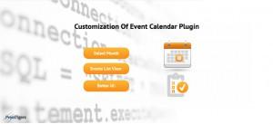 Customization Of Event Calendar Plugin