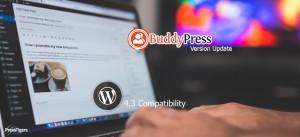 BuddyPress Version Update For WordPress 4.3 Compatibility