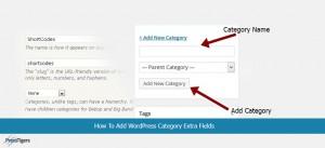 How To Add WordPress Category Extra Fields