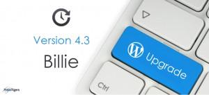 WordPress Version 4.3 (Billie) Upgrade