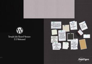 The Simple Job Board Plugin - Powered by PressTigers
