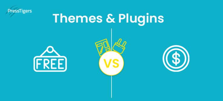 Free Vs Premium Plugins & Themes