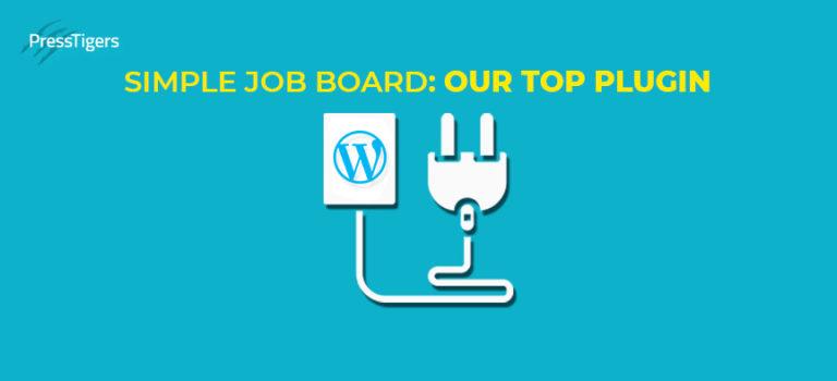 Simple Job Board: Our top Plugin