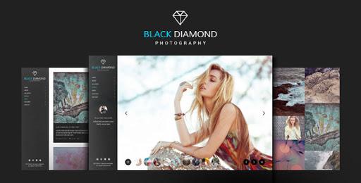 Diamond Photography WordPress Theme.