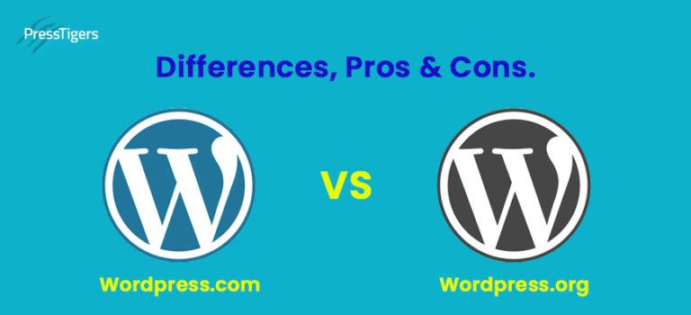 The Battle of WordPress.com vs WordPress.Org